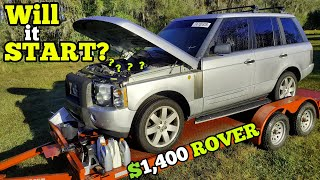 I Found a BLOWN HEAD GASKET in my $1,400 Range Rover! Will It Ever Run & Drive?