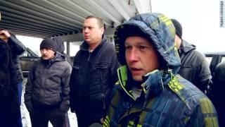 Забастовка дальнобойщиков в Екатеринбурге