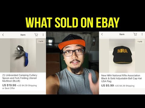 WHAT SOLD ON EBAY THIS WEEK (Ebay Business #21)