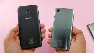 Samsung J7 Pro vs LG Q6 Speed Test Comparison | Which is Faster!