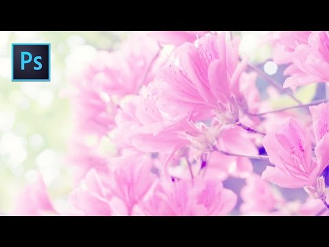 Photoshop Tutorial l Spring Flowers l Photo Effect thumbnail