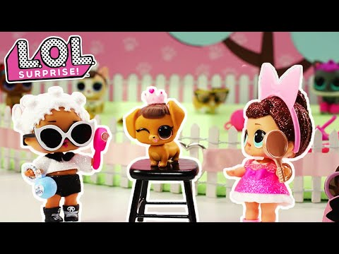 LOL Surprise!   Stop Motion Pet Daycare Cartoon   #PetsOfLOL