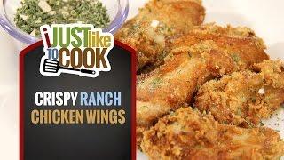 Crispy Ranch Chicken Wings Recipe