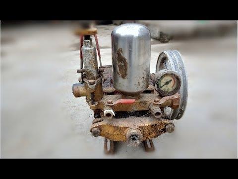 Restoration The Old Big Pressure Washer Restore Car Wash
