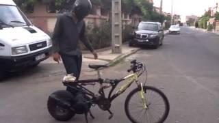 Vélo à moteur protoype