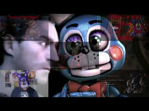 """""""Survive The Night"""" - Five Nights At Freddy's 2 Song By MandoPony [VOCAL COVER MASH-UP]#160"""