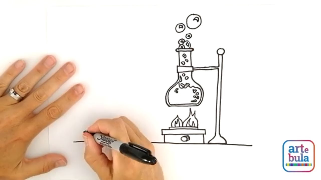 How to Draw a Mad Scientist's Lab