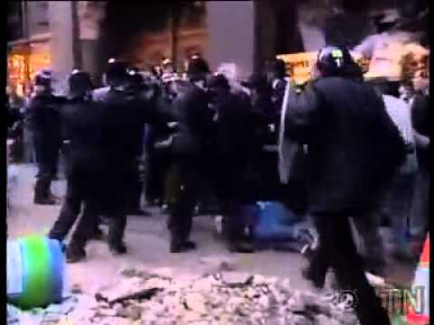 Poll Tax Riot 1990 London Police owned