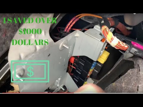 How to Replace Mercedes Amplifier 2009 E350 W211