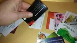 Ламинированные визитные карточки. Типография Авалон-принт, Киев(, 2015-05-24T20:02:13.000Z)