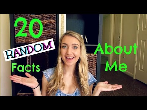 20 RANDOM FACTS ABOUT ME! Vlogtober Day 23