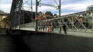 Jumping from Ponte Dom Luis I