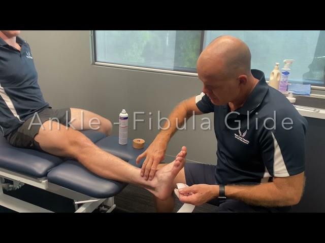 Ankle - fibula glide