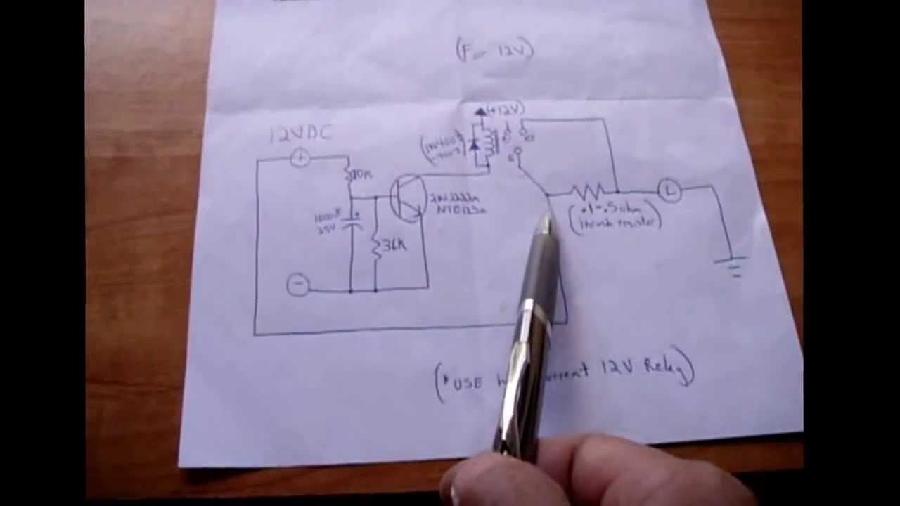 Simple effective solution to inrush current problems youtube for Dc motor current limiter