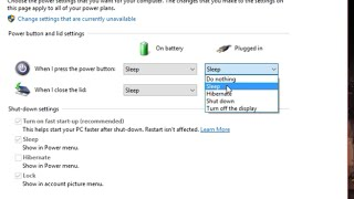 How to customise your power button (windows 10)