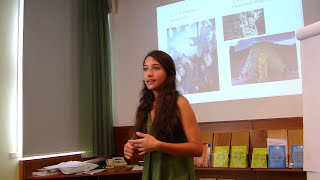 """Toastmasters speech TECHO """"The story of my heart"""" by Ana Giselle"""
