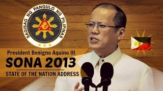 SONA 2013 | Fourth State of the Nation Address of President Benigno Aquino III - July 22, 2013