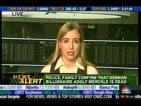 Linda Behringer reporting live for CNBC US on 6th January 2009