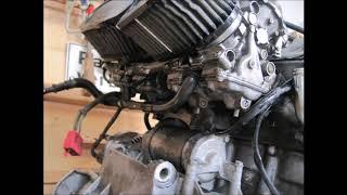 Honda CBR 1000F SC21 Motor