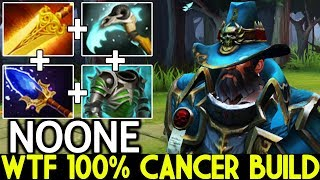 NOONE [Kunkka] WTF 100% Cancer Build Super Mid 7.22 Dota 2