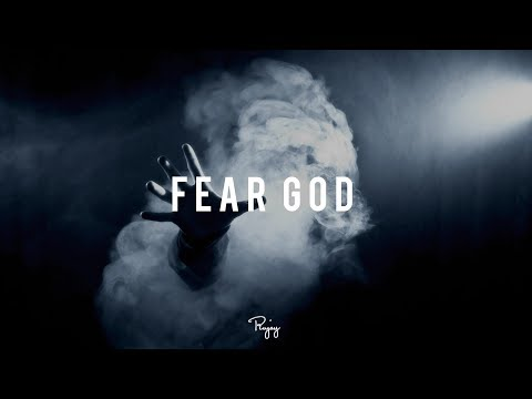 """Fear God"" - Dark Piano Rap Beat 