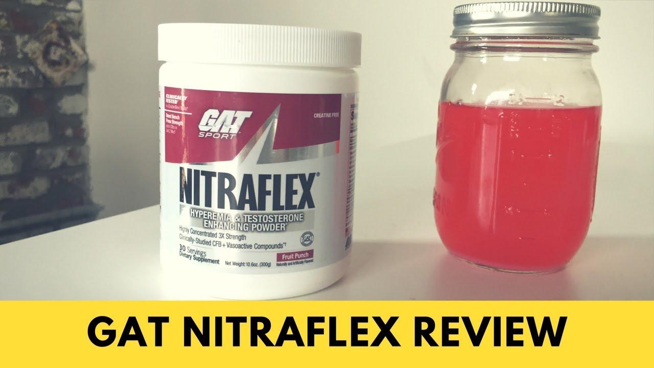 GAT Nitraflex Review — Highest