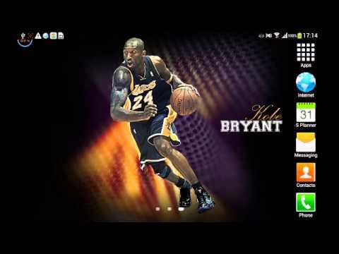 Kobe Bryant live wallpaper - YouTube
