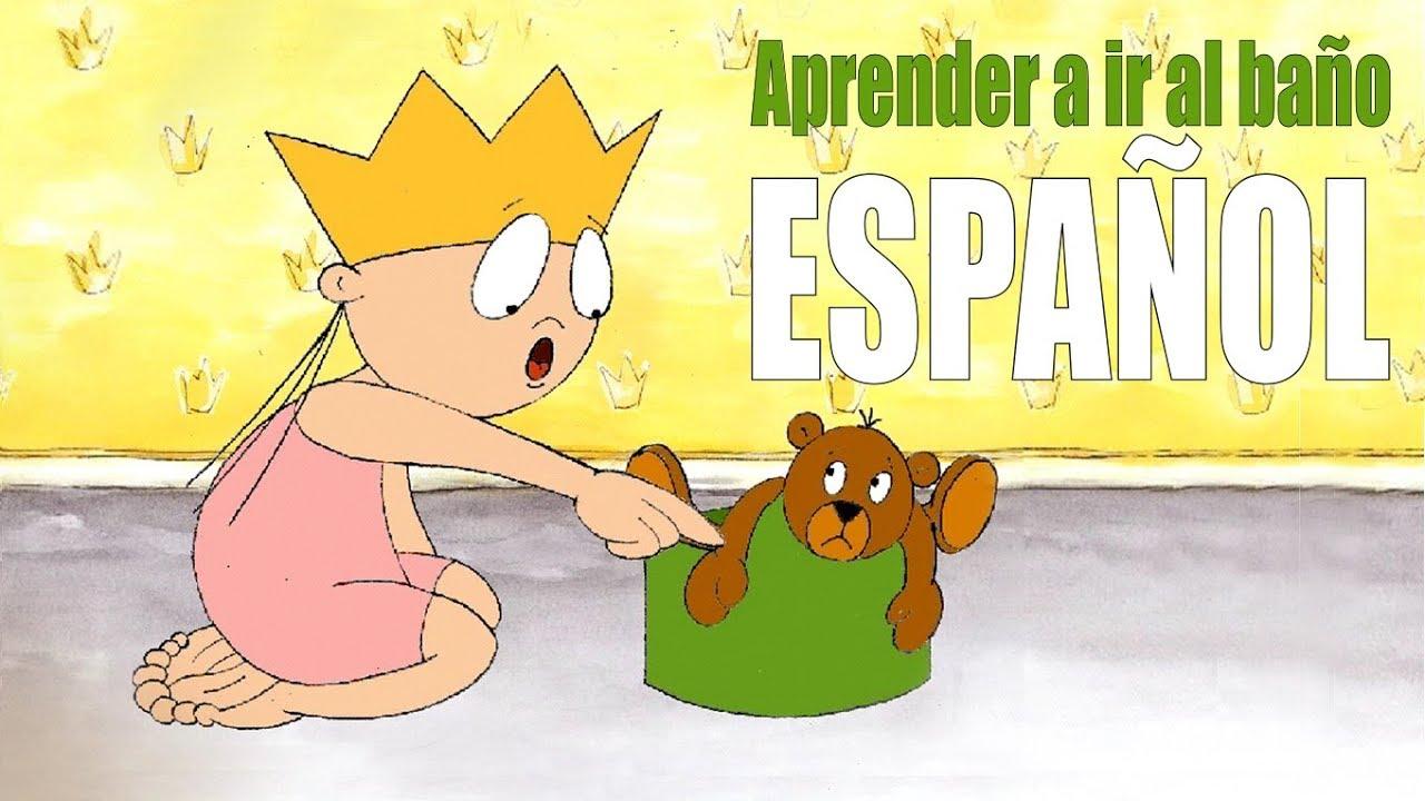 La Princesa Lili Aprende A Ir Al Baño Utilizar El Baño Solo Pipí Popó Español