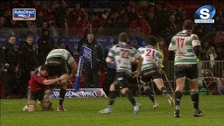 Paddy Butler Tackles Wrong Player !! Munster v Benetton Treviso 22nd March 2014