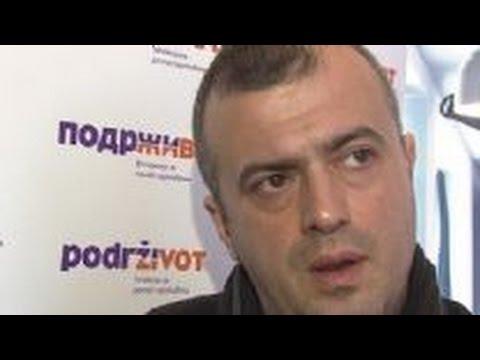 Emotivni Sergej Trifunović: Naše malo je nečije mnogo