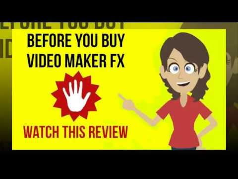 free videofx music video maker creation an animated movie intro