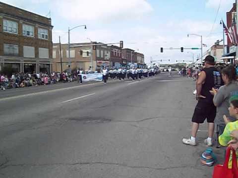 Oktaha High School Band 2014 Henryetta Labor Day Parade