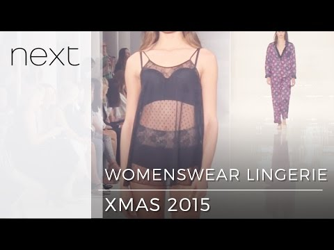 Must-have Lingerie Looks | Next | Winter 2015