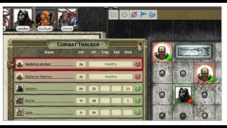Pathfinder Combat Sample in Fantasy Grounds