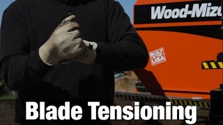 Service & Maintenance Tips: Lt70 Sawmill Blade Tension