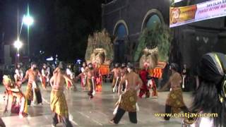 The Traditional Reog Dance - Ponorogo
