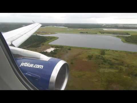jetBlue Airways Airbus A320-232 Landing in Orlando