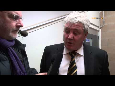 Fulham Reaction With Steve Bruce