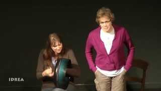 Siobhan O'Donnell and Helen Flaherty - Craiceann Bodhran Festival 2013