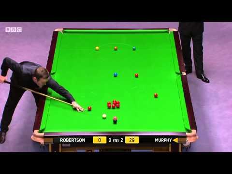 Neil Robertson -  Shaun Murphy, Final Masters 2015l 1 Session
