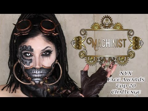 MACHINIST | NYX FACE AWARDS TOP 20 CHALLENGE