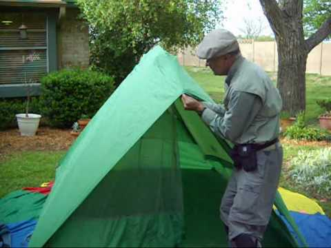 & Ten Minute Tent: Eureka Timberline 4 Boy Scout Tent Pitch - YouTube