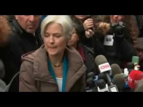 Jill Stein Interrupted By Trump Supporters Chanting