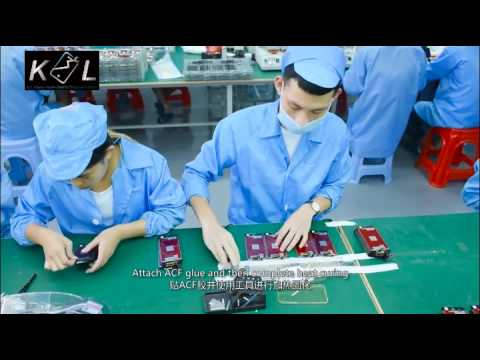 How China Factory Make Produce Manufacture iphone Lcd Screen Assembly ?