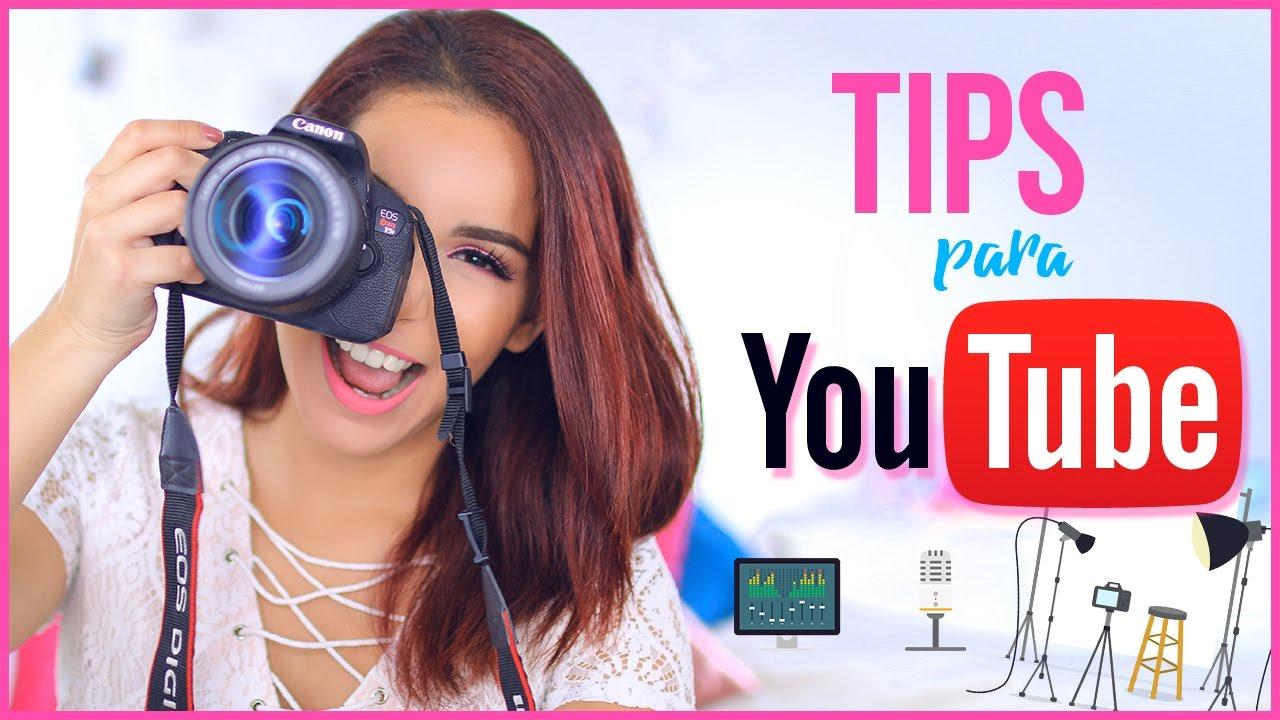 Como Empezar En Youtube Tips Que Debes Saber Como Edito Mis Videos Ganar Dinero Jimena Aguilar Youtube