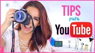 COMO EMPEZAR EN YOUTUBE: Tips que DEBES saber (Como edito mis videos, ganar dinero..) Jimena Aguilar