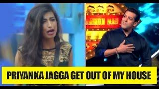 Shocking: Salman Khan furious with Priyanka Jagga, throws her out of Bigg Boss house