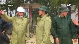 VTC14 | Thông luồng tạm thời ra vào cảng Quy Nhơn sau bão số 12