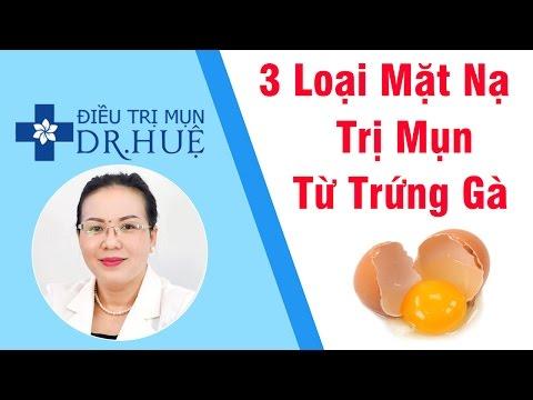 3 Loại Mặt Nạ Trị Mụn Từ Trứng Gà Ai Cũng Làm Được