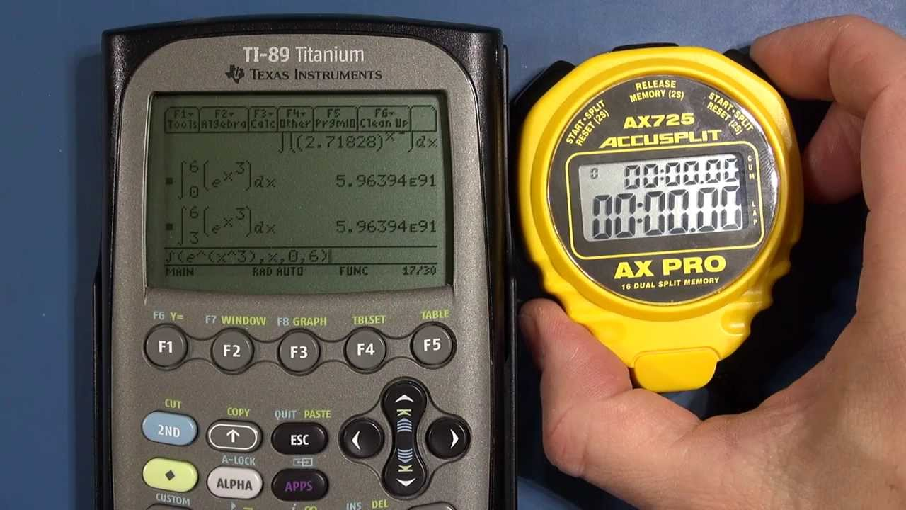 CAM #6 - Calculator Performance Benchmark / Tests